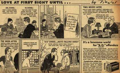 Lever Brothers Company's Lifebuoy Health Soap – Love AT First Sight Until... (1933)
