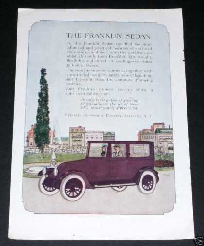Franklin Automobile Co, Sedan (1919)