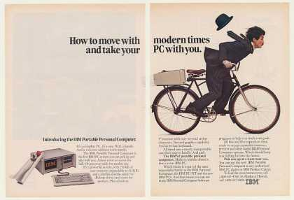 IBM Portable Computer Little Tramp Bike (1984)