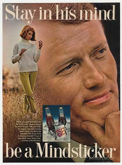 Tab Cola Stay in His Mind Be a Mindsticker (1969)