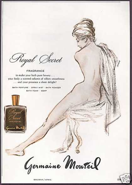 Germaine Monteil Bath Perfume Naked Woman (1963)
