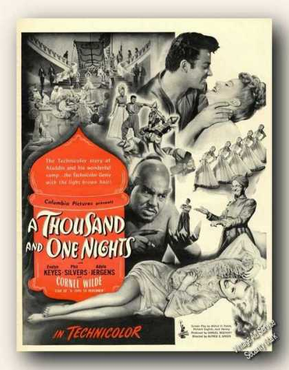 A Thousand and One Nights Movie Promo (1945)