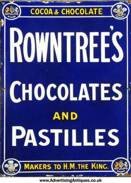 Rowntree's Chocolates & Pastilles