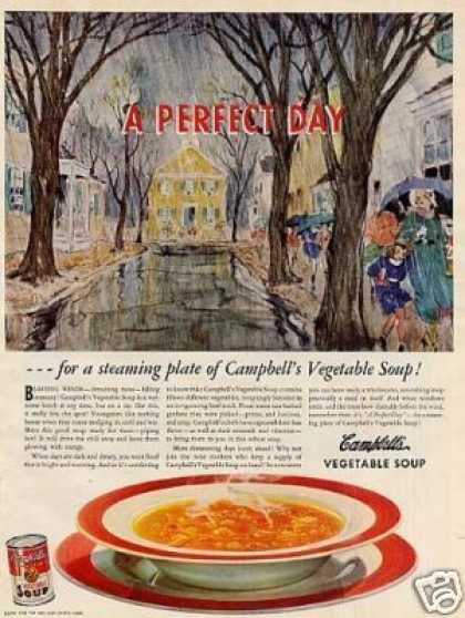 Campbell's Vegetable Soup (1939)
