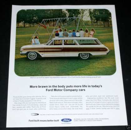 Ford, Country Squire Wagon (1964)