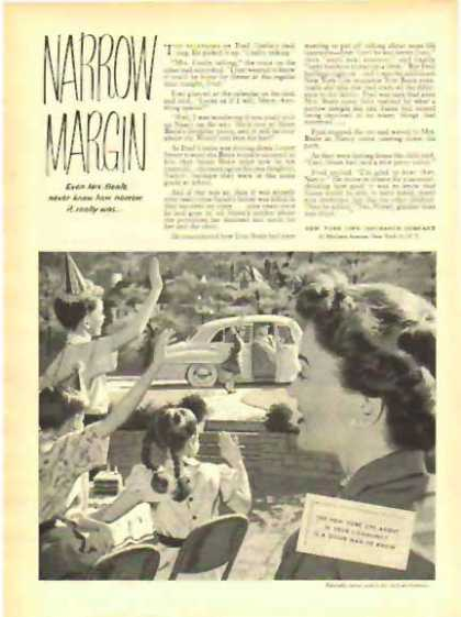 New York Life Insurance – Narrow Margin (1949)