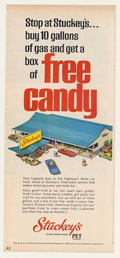 Stuckey's Highway Store Free Candy (1969)