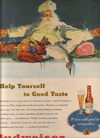 """Help yourself to good taste"" (1948)"