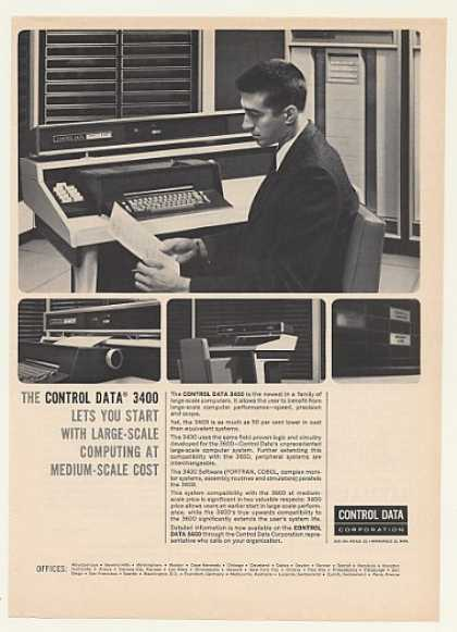 Control Data 3400 Computer System (1964)