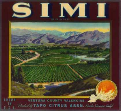 Simi Orange Label – Santa Susana, CA