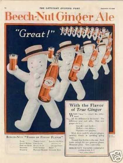 Beech-nut Ginger Ale Color (1920)