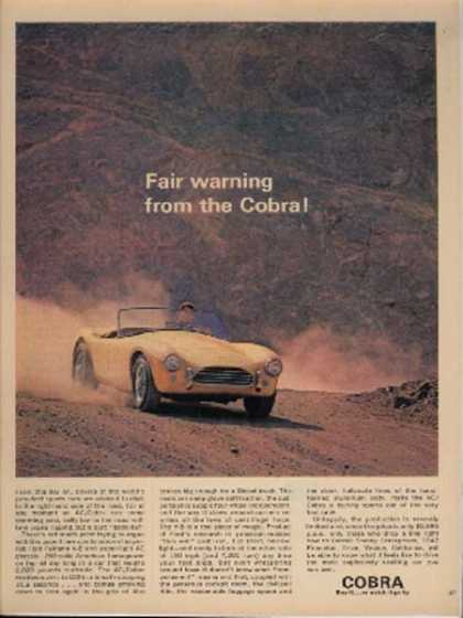 Ford's Mustang/ Cobra (1962)