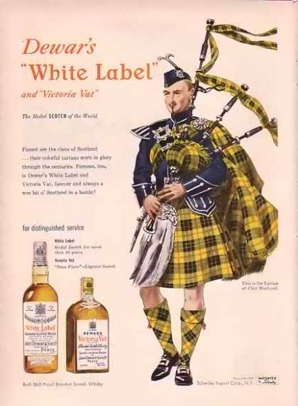 Dewar's White Label – Clan of MacLeod (1948)