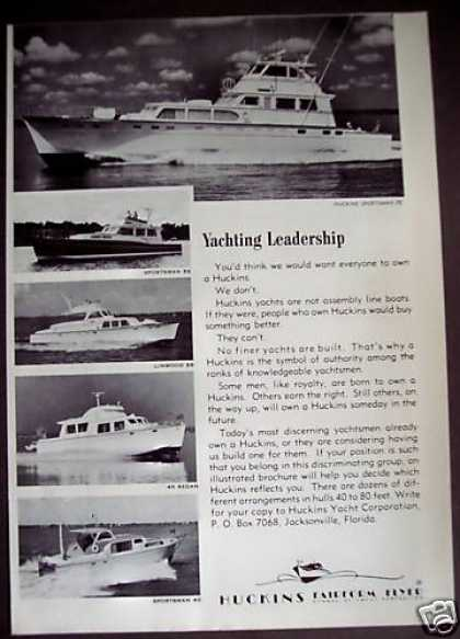Huckins Yachts Sportsman 76 Boat (1971)