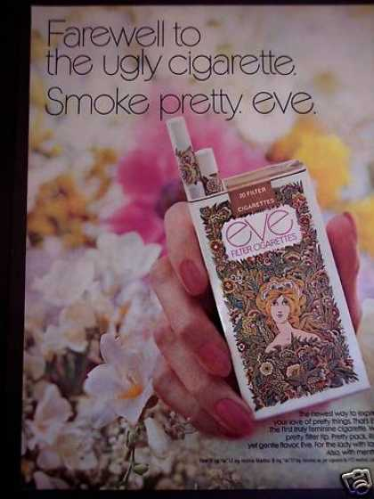 Eve First Truly Feminine Cigarette (1971)