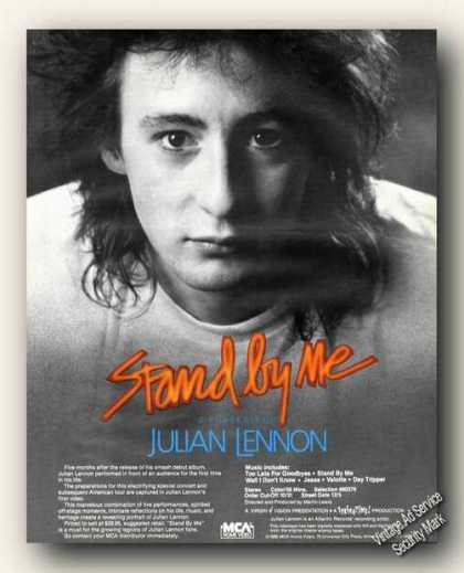 Julian Lennon Photo Video Promo Ad Music (1985)