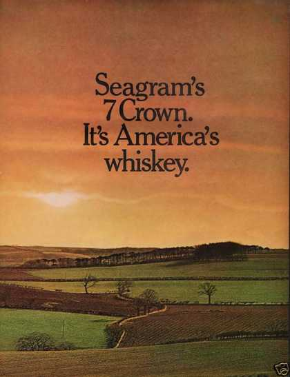 Seagram's 7 Whiskey Crown (1972)