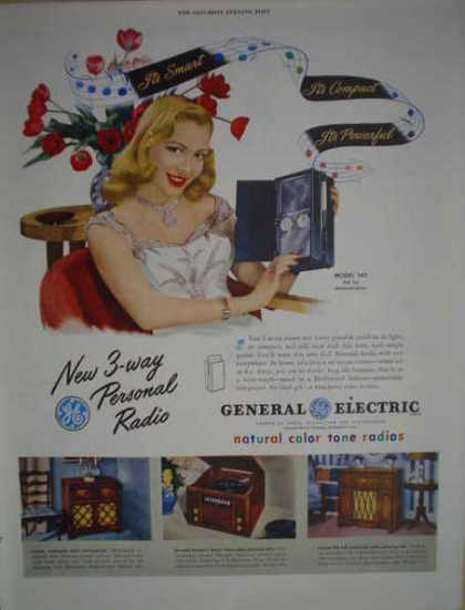 General Electric Personal Radio Model 140 (1947)