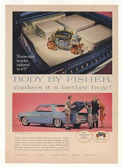 '61 Pontiac Bonneville Vista Body By Fisher Carriage (1961)