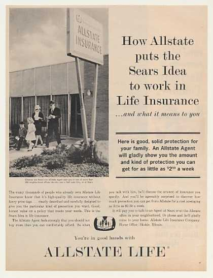 Allstate Life Insurance Sears Idea SLC Office (1963)