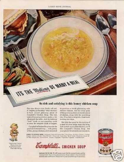Campbell's Chicken Soup (1943)