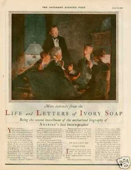 Ivory Soap Color Ad 2 Page (1925)