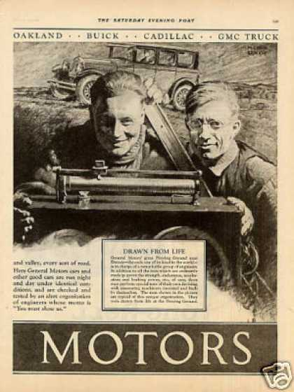 General Motors Ad 2 Page (1926)