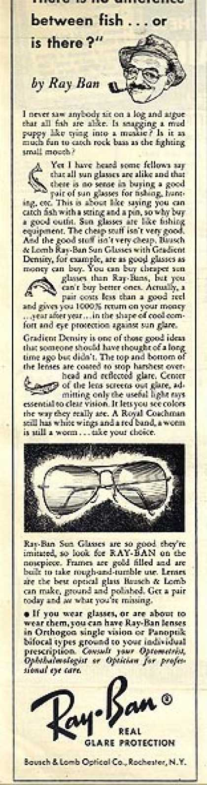 Ray-Ban's Real Glare Protection (1952)