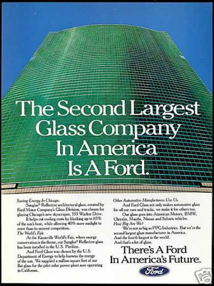 Ford Motor Co 2nd Largest Glass Company (1982)