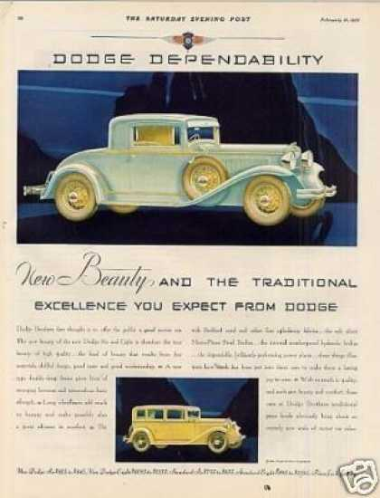 Dodge Car Color (1931)