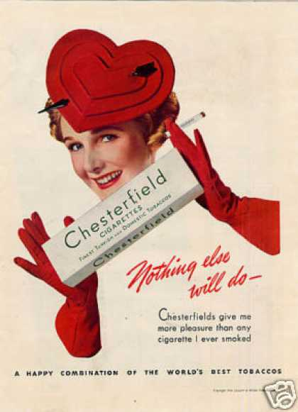 Chesterfield Cigarettes (1939)