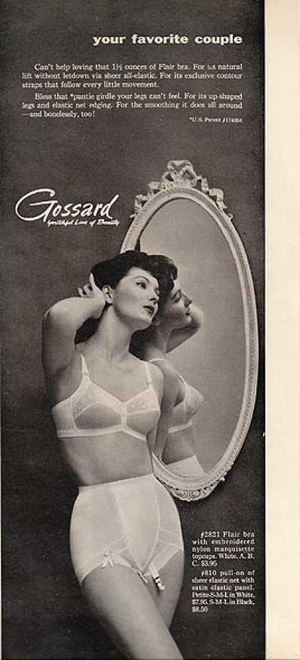 Gossard's Flair Bra (1955)