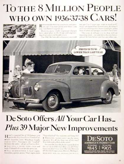 DeSoto Deluxe Coupe #2 (1940)