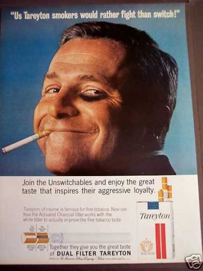 Tareyton Cigarette I'd Rather Fight Than Switch (1963)