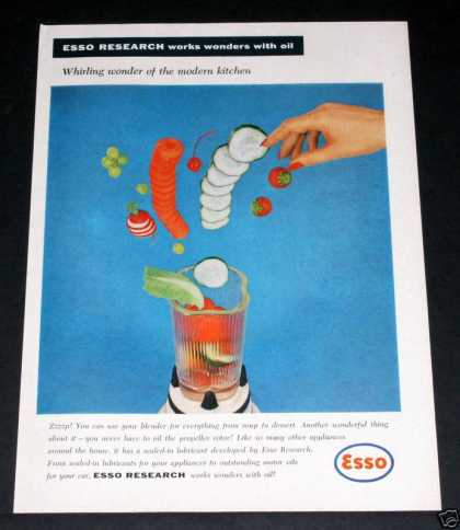 "Esso, ""Works Wonders With Oil"" (1958)"