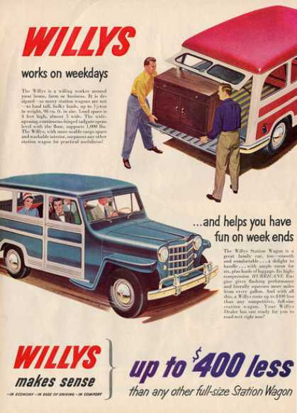 Jeep Willys Station Wagon T (1951)