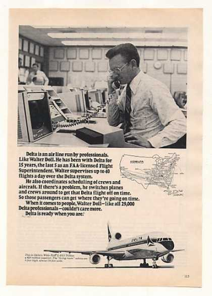 '77 Delta Airlines Flight Superintendent Walter Doll (1977)