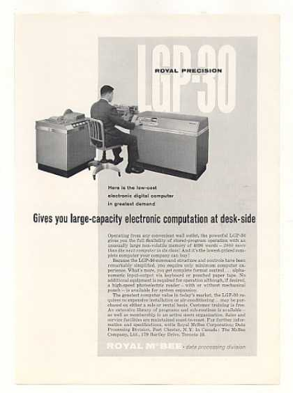 Royal McBee LGP-30 Electronic Digital Computer (1959)