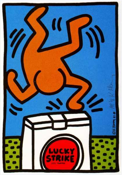 Lucky Strike VII – Keith Haring (1987)