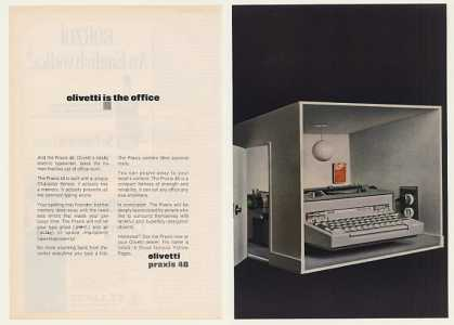 Olivetti Praxis 48 Electric Typewriter (1970)