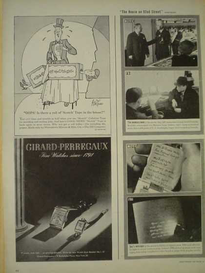 Girard Perregaux Watches Fine watches since 1791 (1945)