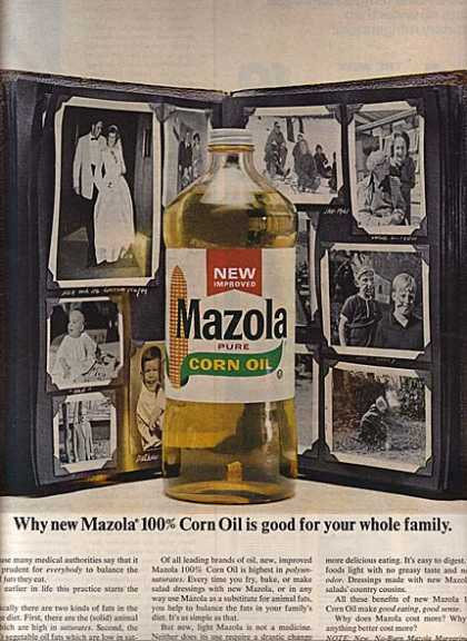 Mazola's Pure Corn Oil (1966)