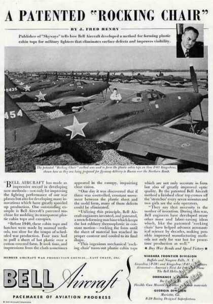 P-63 Kingcobras Photo Bell Aircraft Article (1945)