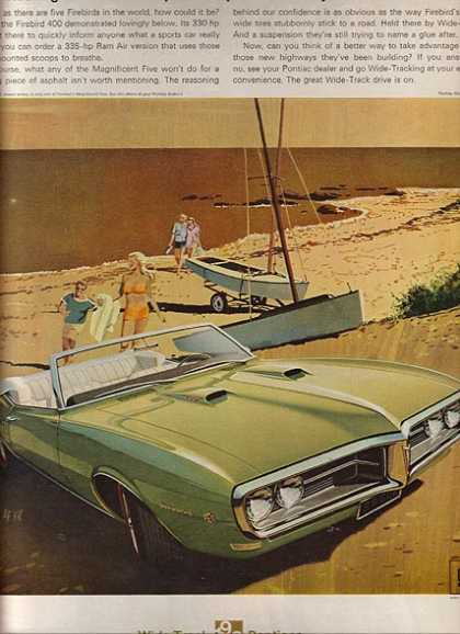 General Motor's Pontiac Firebird (1968)