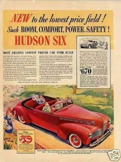 Hudson Six Car Color (1940)