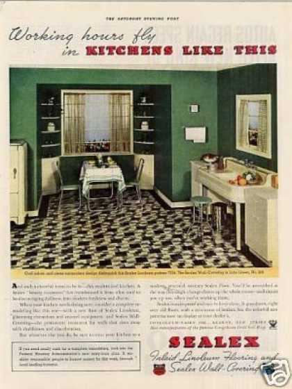 Sealex Linoleum Color (1935)
