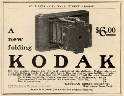 Kodak – A New Folding Kodak (1902)