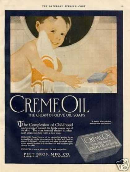 Cream Oil Soap (1921)