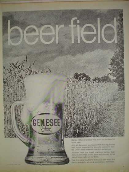 Genesee Beer Beer Field Farm theme (1970)