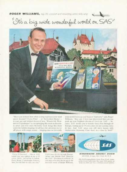 Scandinavian Airlines Sas Roger Williams (1959)